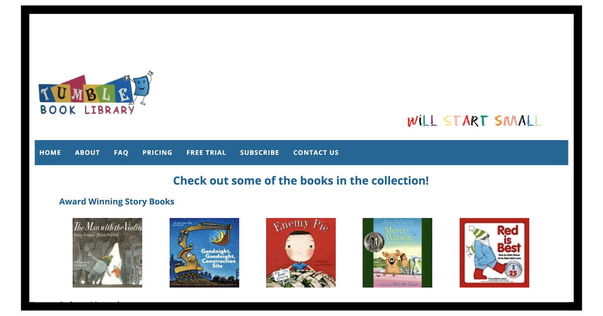 Free Read Aloud Books