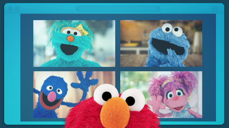 Elmo Virtual Play Date
